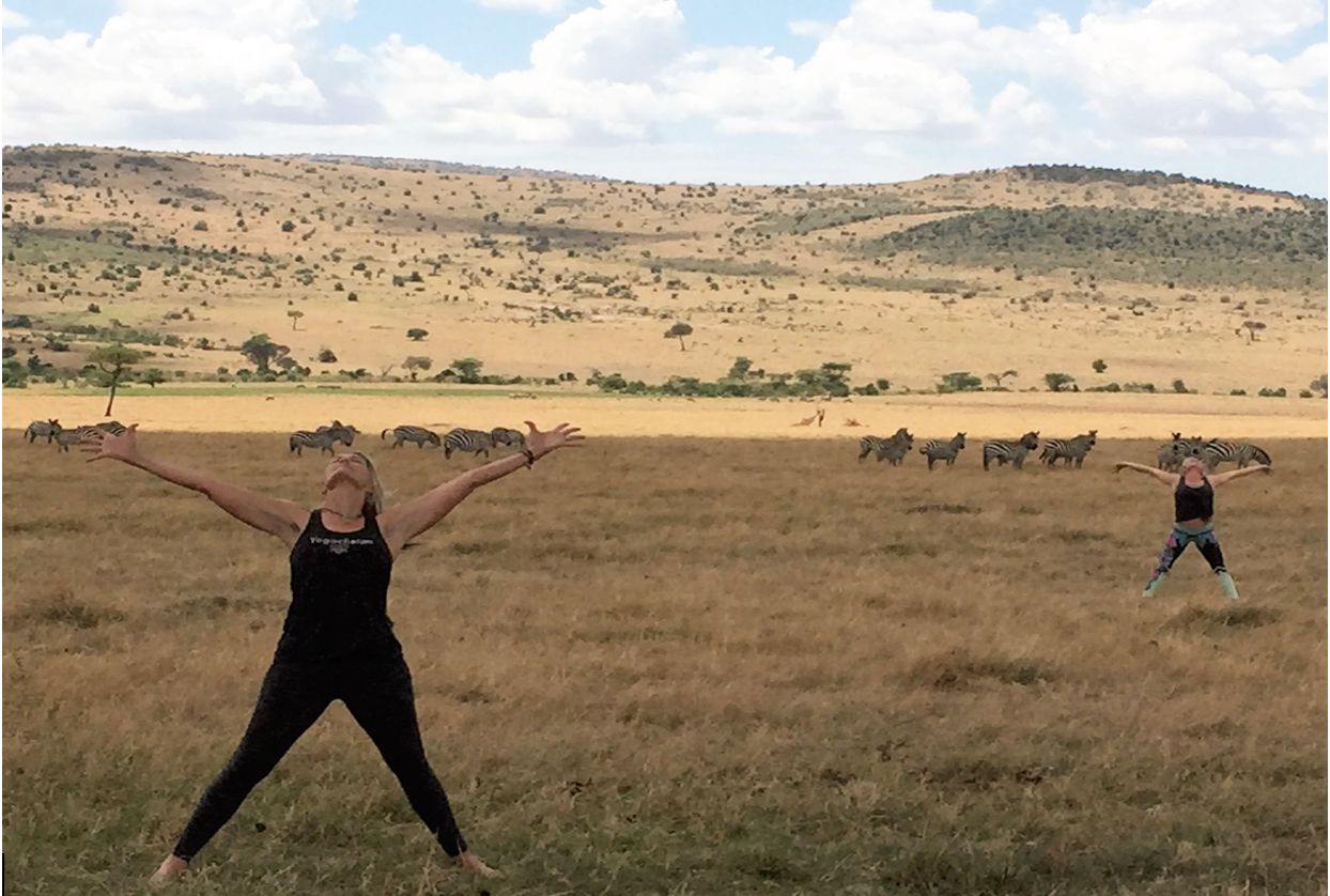 Yoga In The Wilds Of Africa